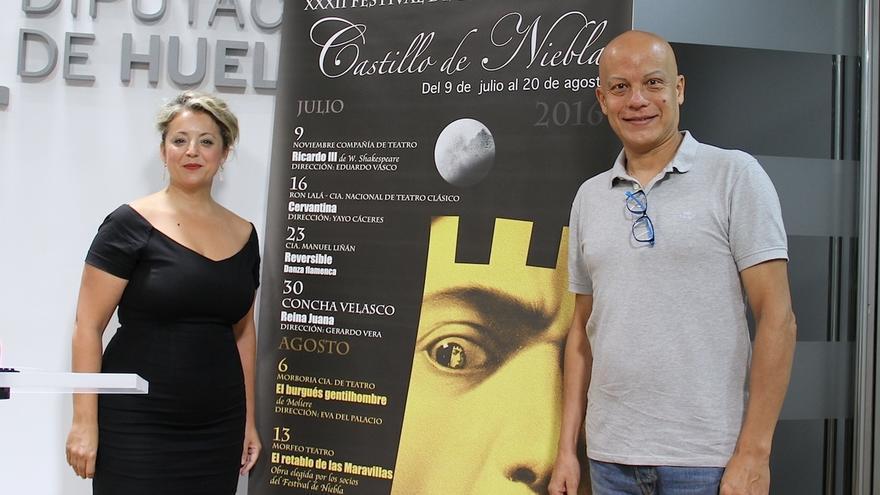 El Festival de Niebla acoge este sábado la obra 'Cervantina' de la compañía Ron Lalá