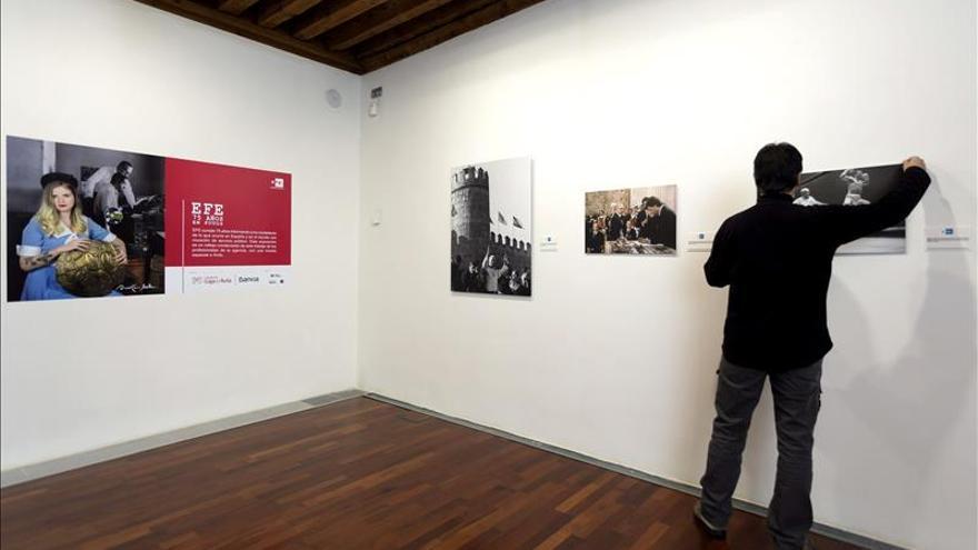 La Agencia EFE expone en Ávila la memoria visual de España entre 1939 y 2014