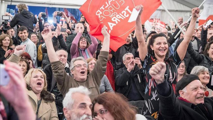 Las políticas contrarias a la austeridad ganan en Grecia con Syriza