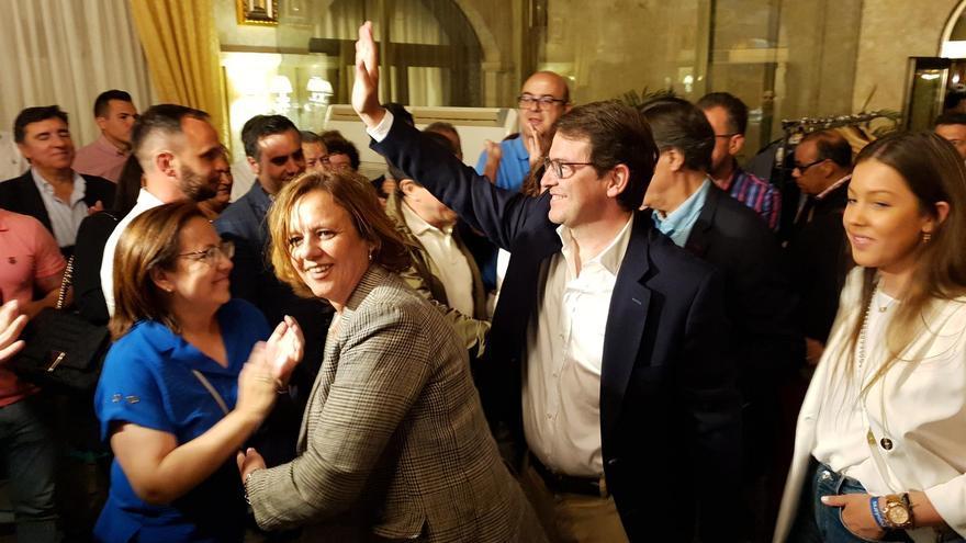 Alfonso Fernández Mañueco tras perder las elecciones en Castilla y León