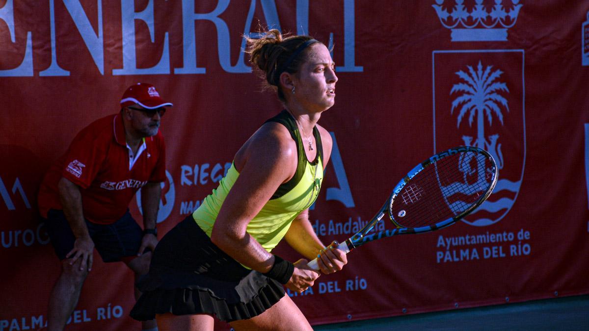 Lance de un partido del Open Ciudad de Palma del Río