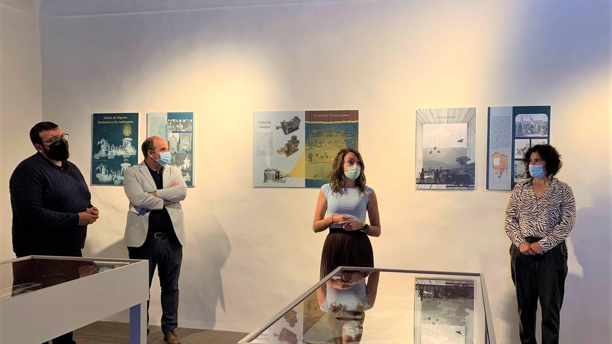 Presentación de las exposiciones  sobre las fiestas lustrales de La Bajada que acoge la Casa Salazar.