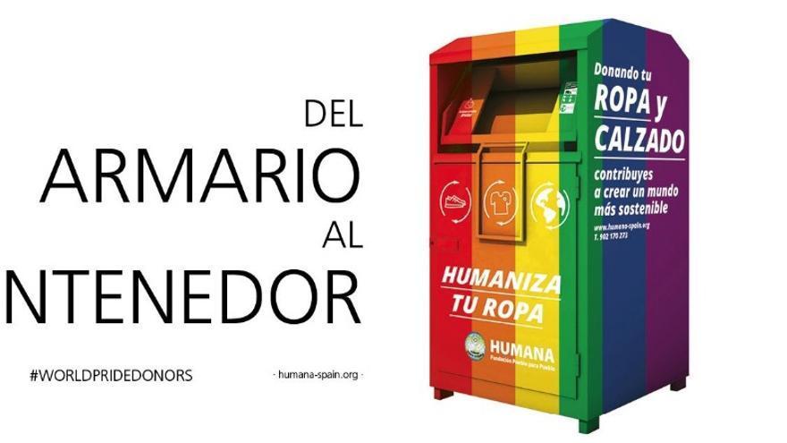 """Campaña de la Fundación Humana: """"Del armario al contenedor"""""""