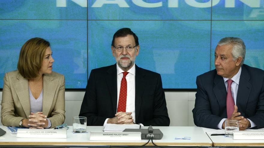 Rajoy coincide hoy en el Comité Ejecutivo del PP con sus 'barones', algunos en vilo por su candidatura