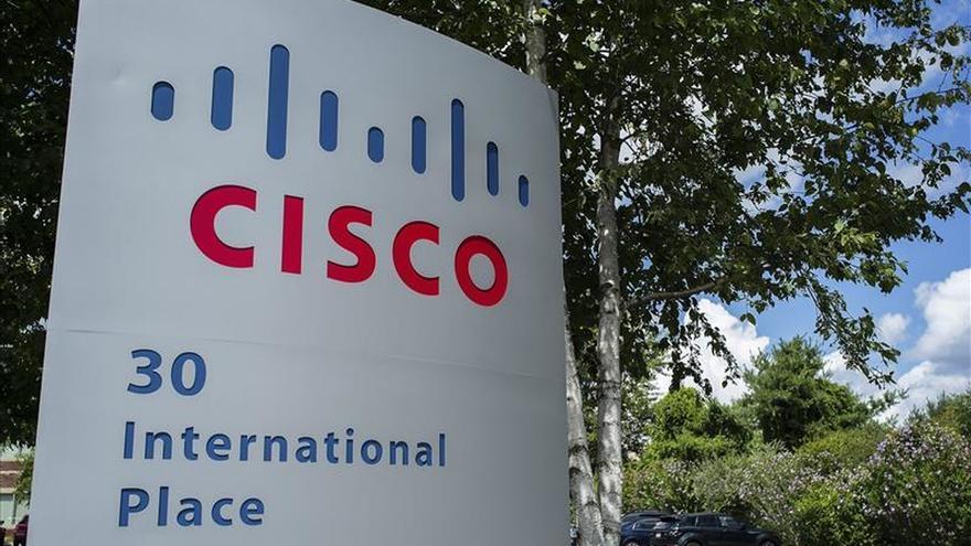 El beneficio neto trimestral de Cisco subió un 37,1  por ciento