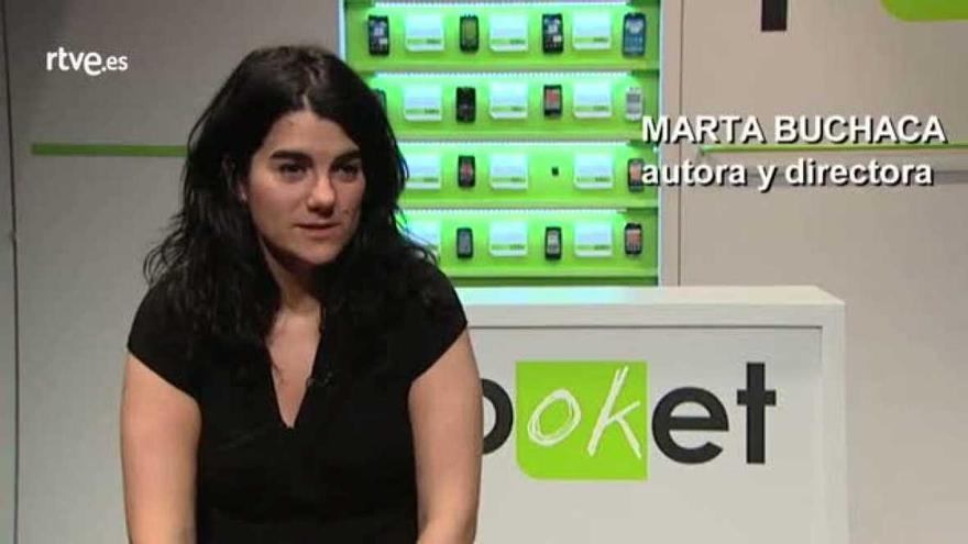La autora Marta Buchaca
