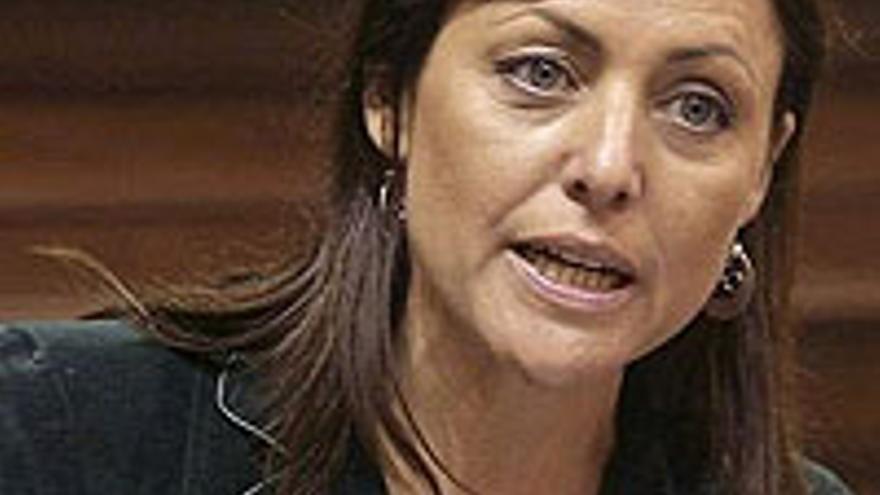Cristina Tavío, presidenta del PP de Tenerife.