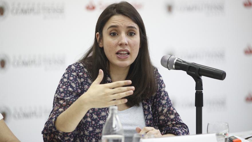 Irene Montero reitera que Podemos no tiene líneas rojas tras el veto de Sánchez a la entrada de Iglesias en el Gobierno