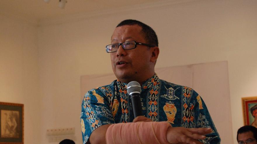 Onno W. Purbo, el gurú del internet comunitario en Indonesia (Imagen: Ikhlasul Amal   Flickr)