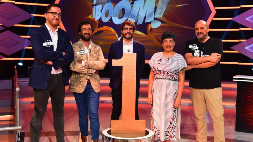 Los Dispersos con Juanra Bonet en 'Boom'