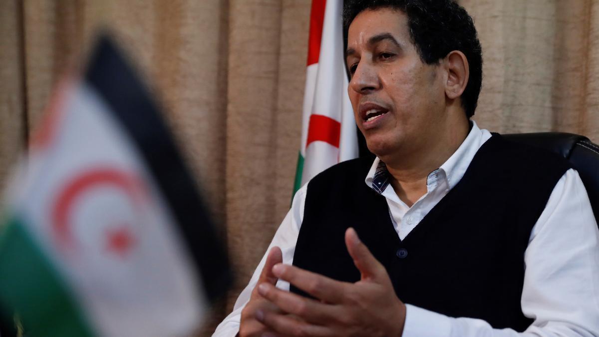 El representante del Frente Polisario para España, Abdulah Arabi