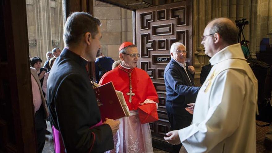 El vizcaíno Pedro de Asúa es beatificado en Vitoria ante cientos de fieles