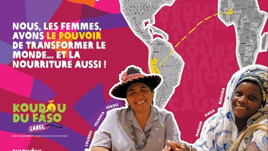 Lourdes y Mariam;  Mistura y Koudous; América y África