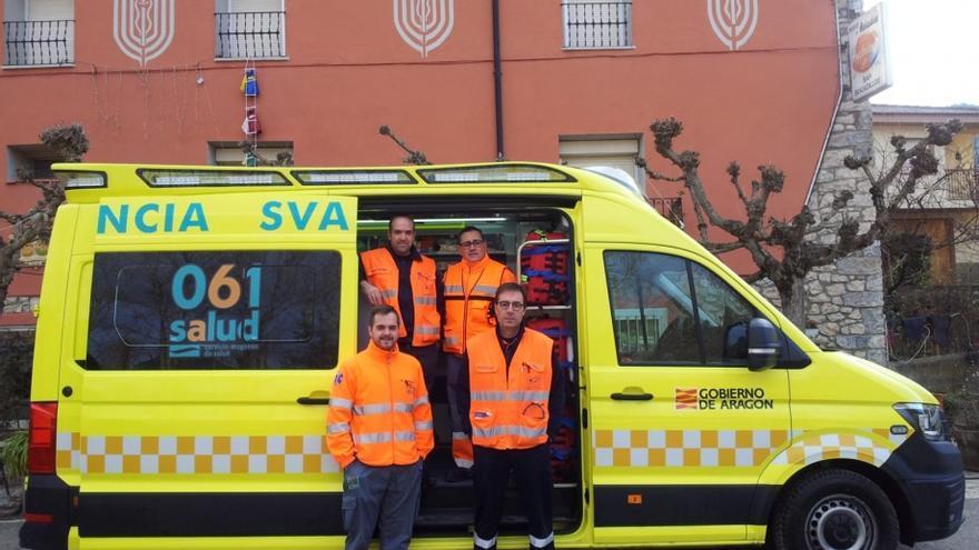 La UME está dotada con seis médicos, seis enfermeros, conductor y técnico