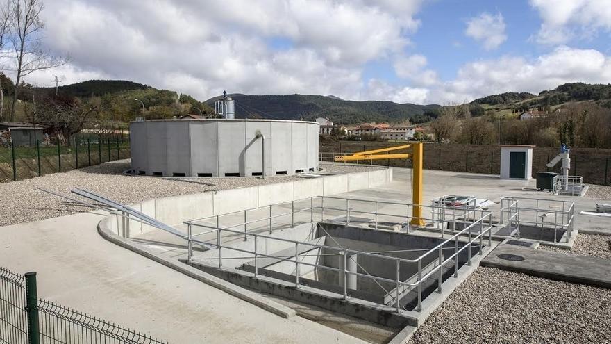 Zubiri cuenta ya con una nueva estación depuradora de aguas residuales