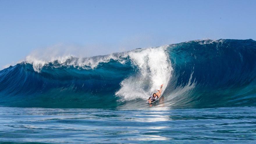 El espectáculo de las olas vuelve a Gáldar con la World Cup Gran Canaria Frontón