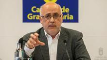 El presidente del Cabildo de Gran Canaria, Antonio Morales