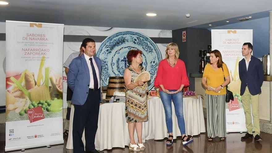 Valladolid acoge un encuentro cultural para la difusión de los productos gastronómicos navarros