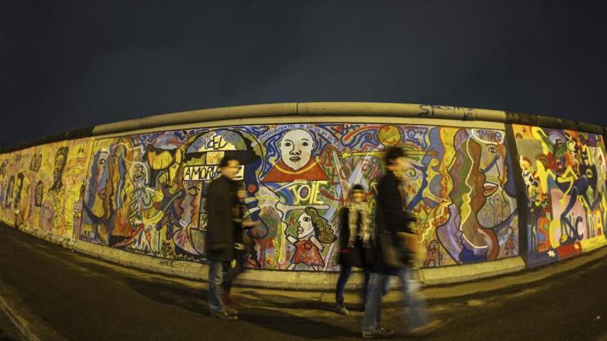 """Alemania """"calienta motores"""" para celebrar los 25 años de la caída del Muro"""
