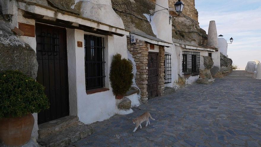 Cuevas de Chinchilla en el barrio árabe de la localidad