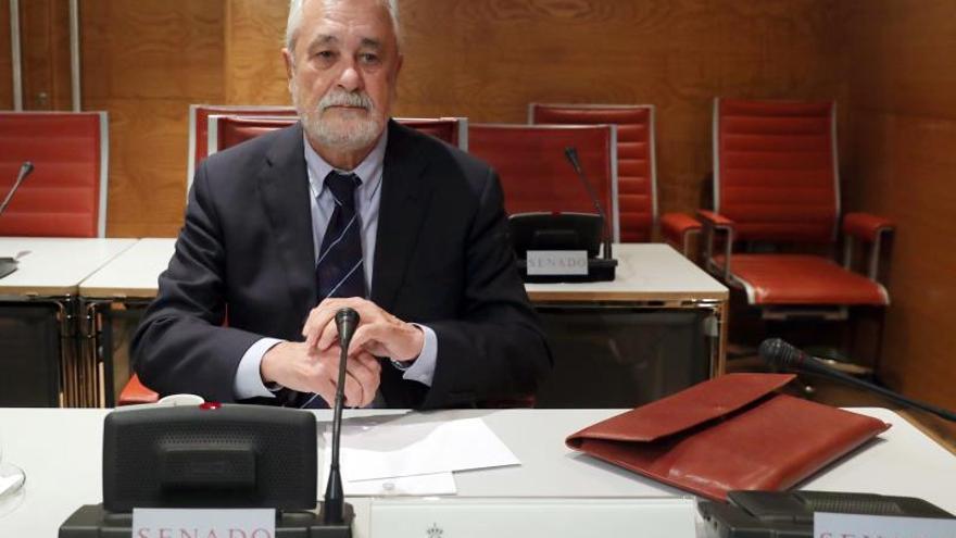 Griñán rechaza declarar en el Senado para preservar su defensa en el juicio ERE
