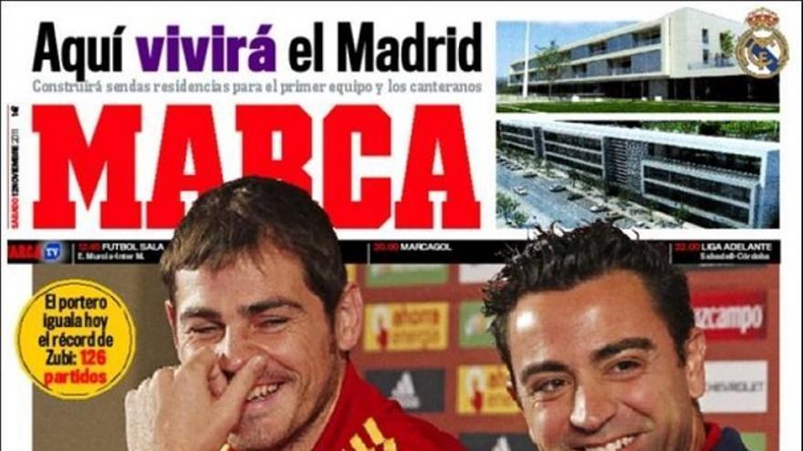 De las portadas del día (12/11/2011) #14