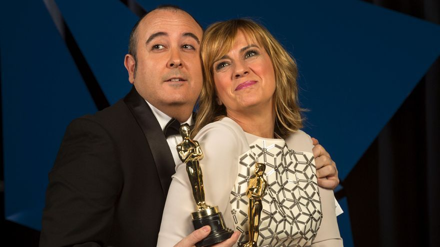 Gemma Nierga y Carlos Areces