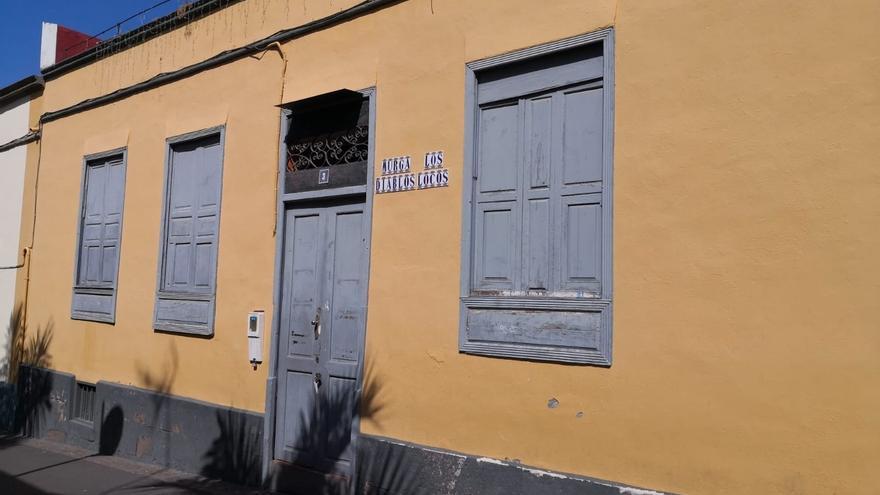 El local de la murga Diablos Locos, en Santa Cruz de Tenerife