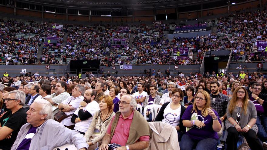 Asistentes a la Asamblea Podemos / Marta Jara