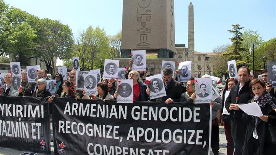 Activistas turcos exigen a Ankara reconocer y compensar el genocidio armenio