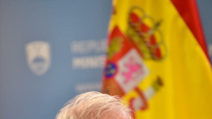 Borrell de visita en Eslovenia