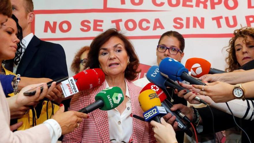 Calvo defiende que Sánchez negocie en tiempo y forma una vez sea propuesto