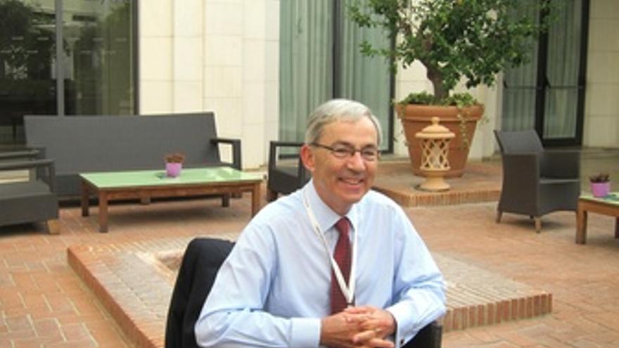 Christopher Pissarides En La Entrevista Con Europa Press