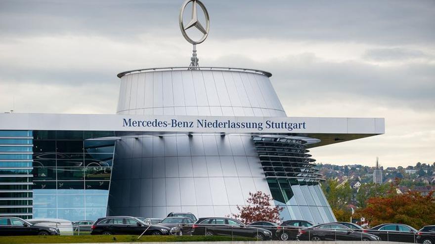 Sede de Central de Mercedes Benz en Stuttgart