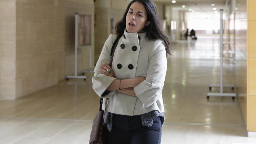 La profesora Cecilia Rosado en una imagen de archivo.