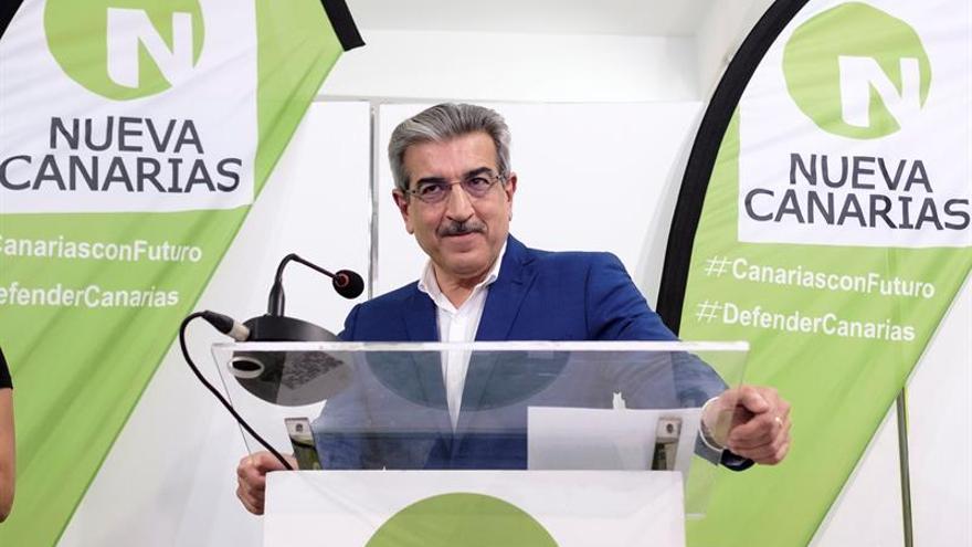 El presidente de Nueva Canarias, Román Rodríguez.
