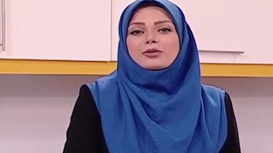 Saba Rad, una de las periodistas que han renunciado a su puesto en la televisión estatal iraní