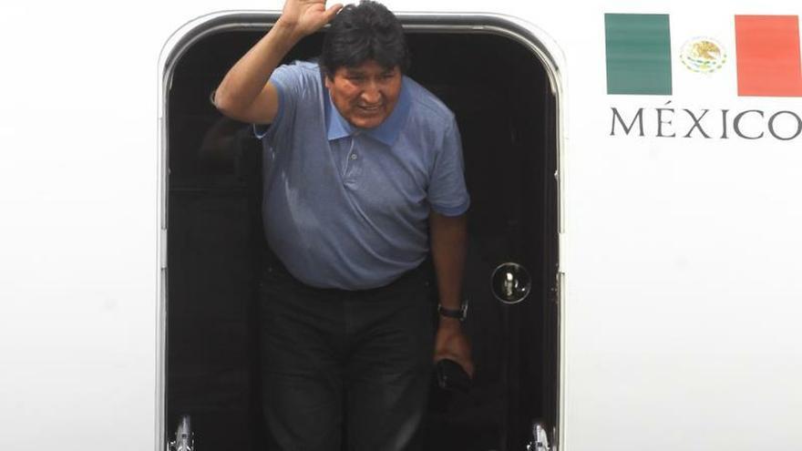 Expresidente boliviano Evo Morales viaja de México a Cuba