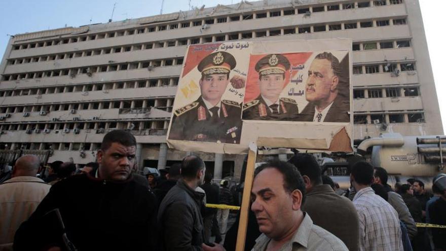Ascienden al jefe del Ejército egipcio al rango de mariscal