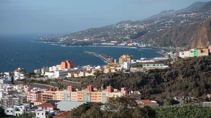 Vista de Santa Cruz de La Palma.
