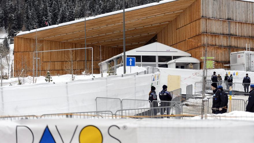 Los dirigentes del mundo debaten remedios para el planeta en el Foro de Davos