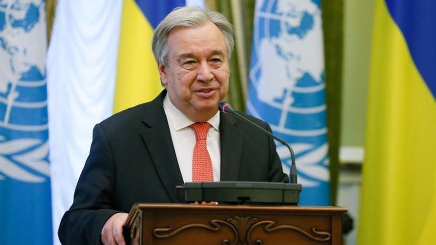 """Guterres dice que la respuesta ante los huracanes """"ha sido pobre"""" y pide más ayuda"""