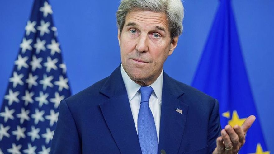 Kerry dice que el compromiso de Londres con la OTAN es más importante que nunca