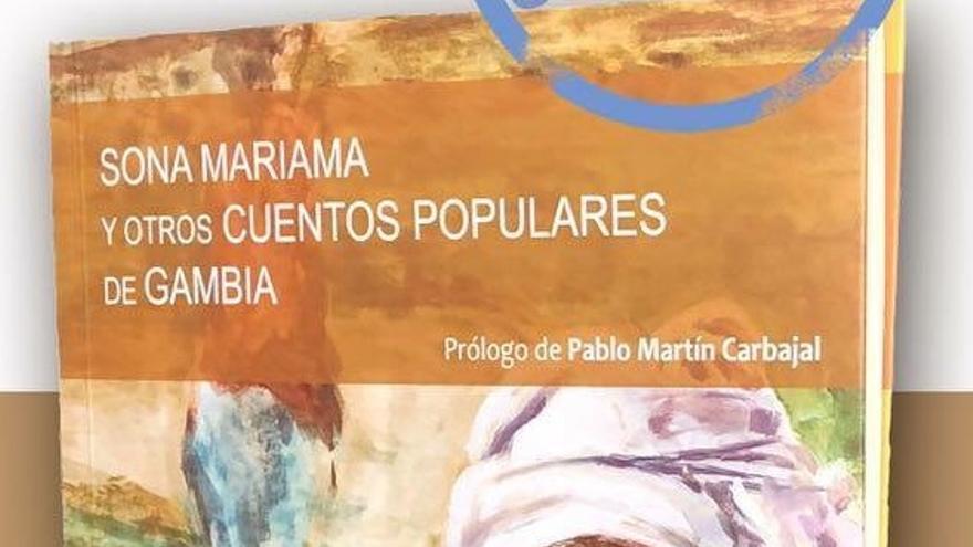 Portada del libro 'Sona Mariama y otros cuentos populares de Gambia'.