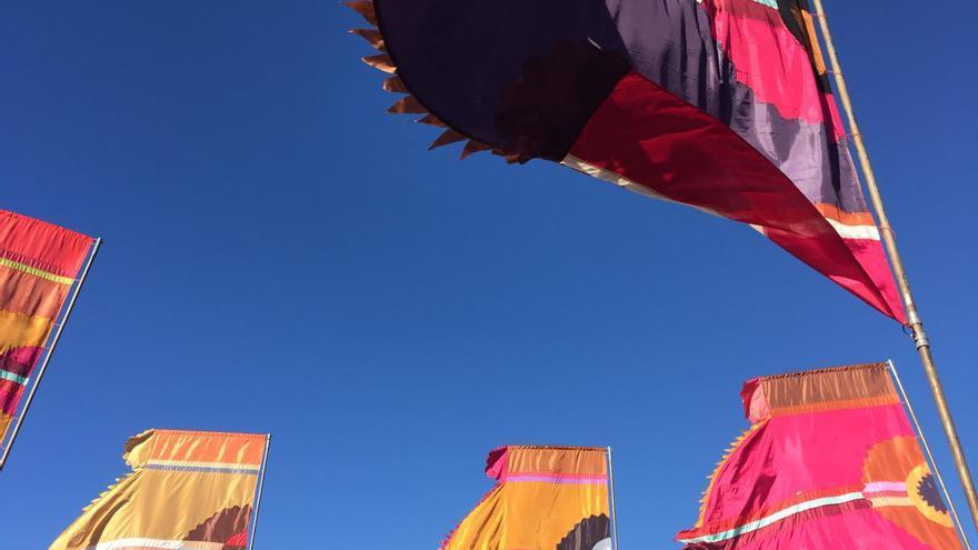 Banderas en el WOMAD 2015 (CANARIAS AHORA)