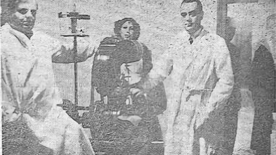 Filek con colaboradores, en El Día de Palencia, 12 de marzo de 1940