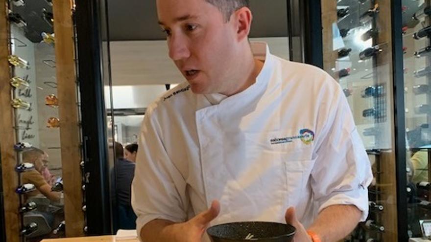 Juan Santiago, chef del Hestia.