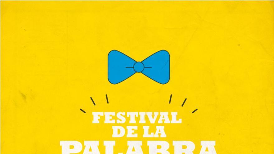 Cartel del Festival de la Palabra.