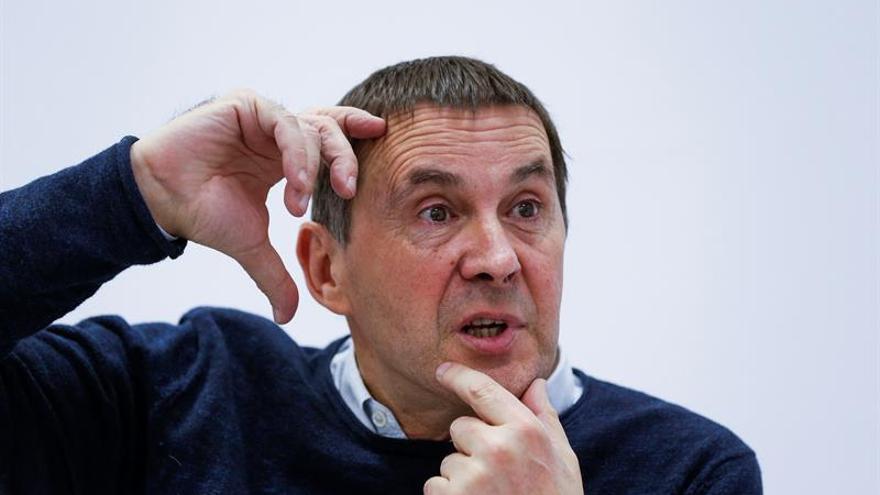 "Otegi expresa su ""firme compromiso"" por conseguir un ""Estado propio"" vasco"