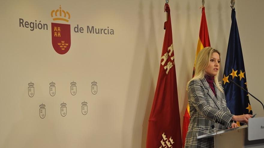Portavoz del Gobierno de Murcia, Ana Martínez Vidal